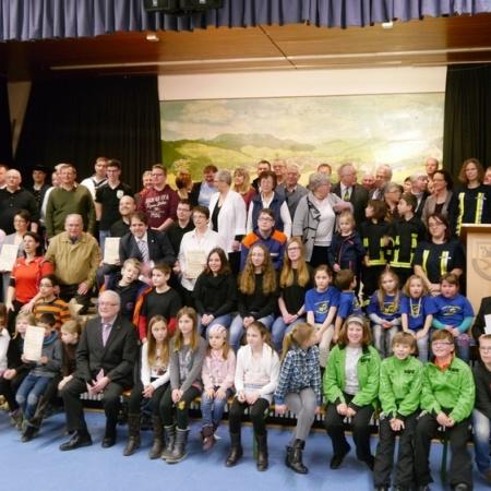 Preisverleihung der Erwin-Ney-Stiftung im Haus des Gastes in Gladenbach