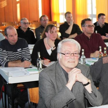 CDU Fraktion: Werner Waßmuth, Heinz Werner Weimer, Peter Thiel, Susanne Kappeller Manuel, Thomas, Norbert Gabriel und Harald Platt.