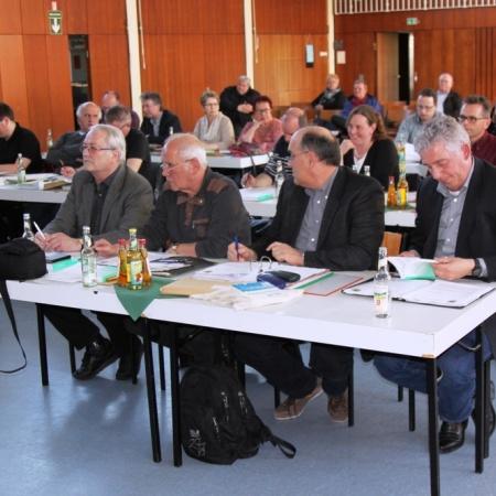 Konstituierende Sitzung der Gemeindevertretung am 28.04.2016