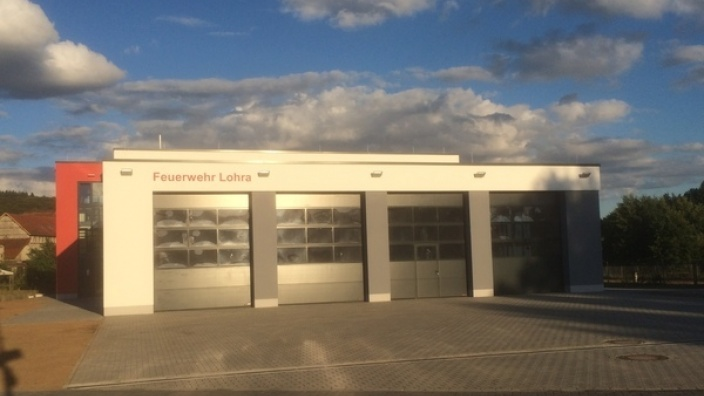 Neues Feuerwehrgerätehaus Lohra fertiggestellt