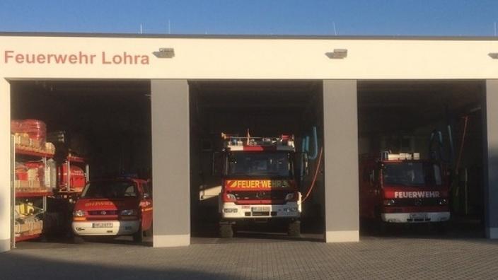Neues Gerätehaus der fusionierten Feuerwehr Lohra Mitte eingeweiht